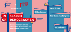 In Search of Democracy 3.0 Beeld